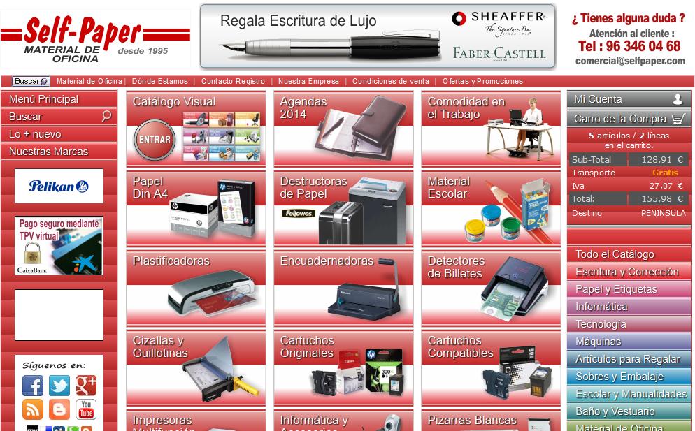 Comprar material de papeleria online material de oficina for Mayorista material oficina